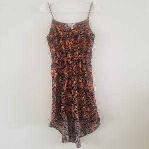 Ambiance Apparel Floral HiLo Dress Sz S